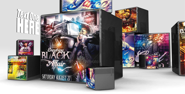 After Effects Project - VideoHive Glossy Cubes 2 491656