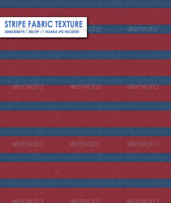 Stripe Fabric Texture - 3DOcean Item for Sale