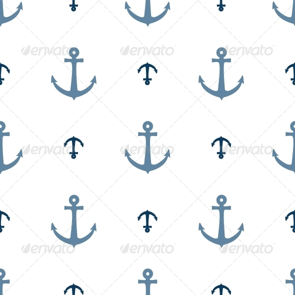 GraphicRiver Seamless Vector Pattern with Anchors 4778930