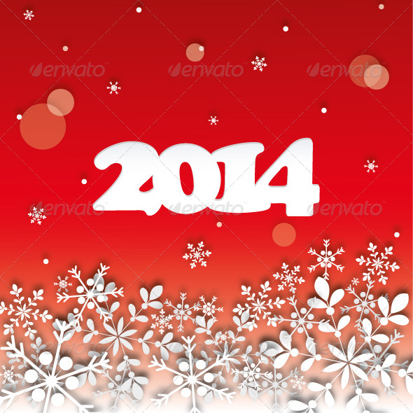 GraphicRiver 2014 Happy New Year 4765448