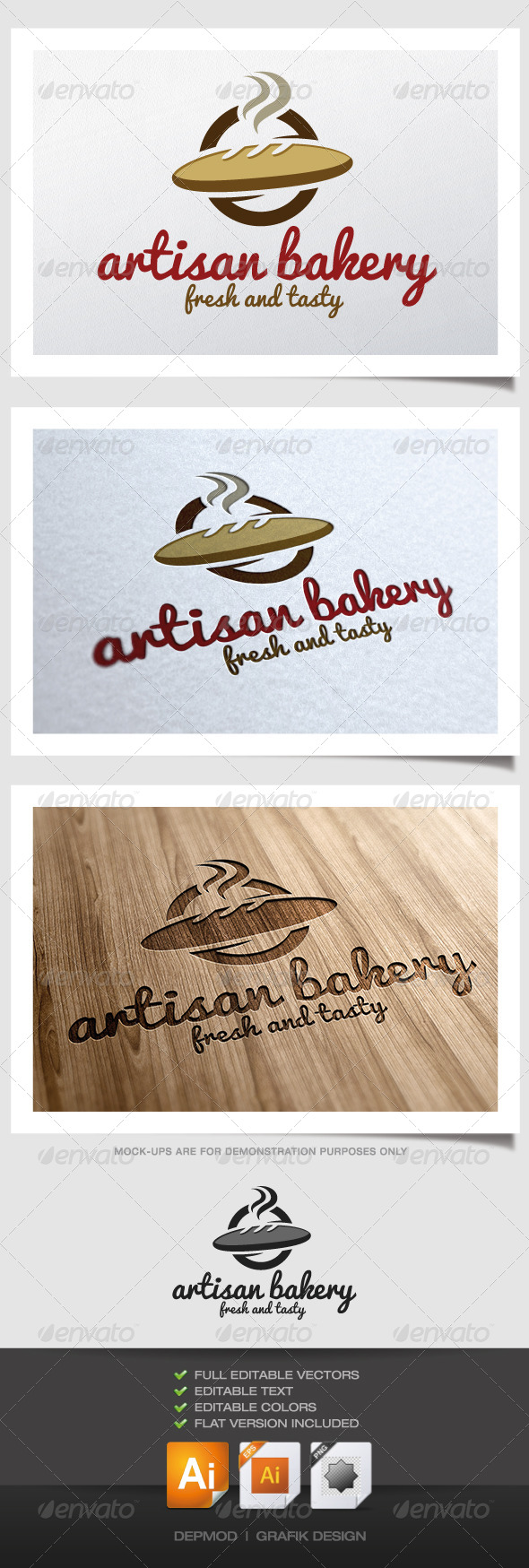 GraphicRiver Artisan Bakery Logo 4779400
