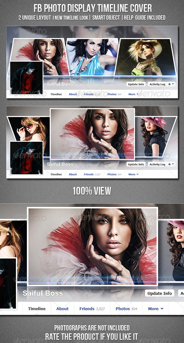 GraphicRiver FB Photo Display Timeline Cover 4751637