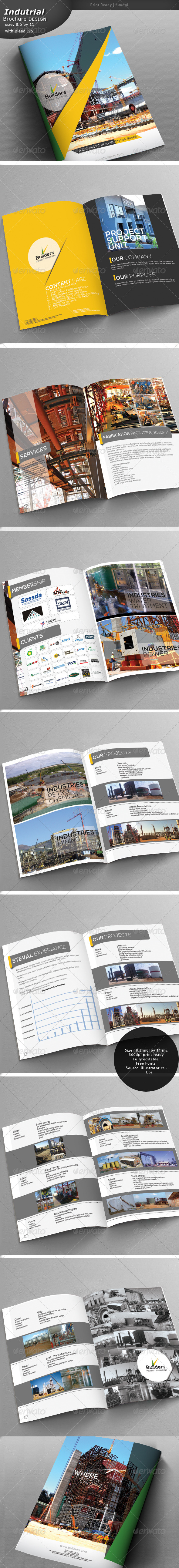 GraphicRiver Construction Brochure 4779633