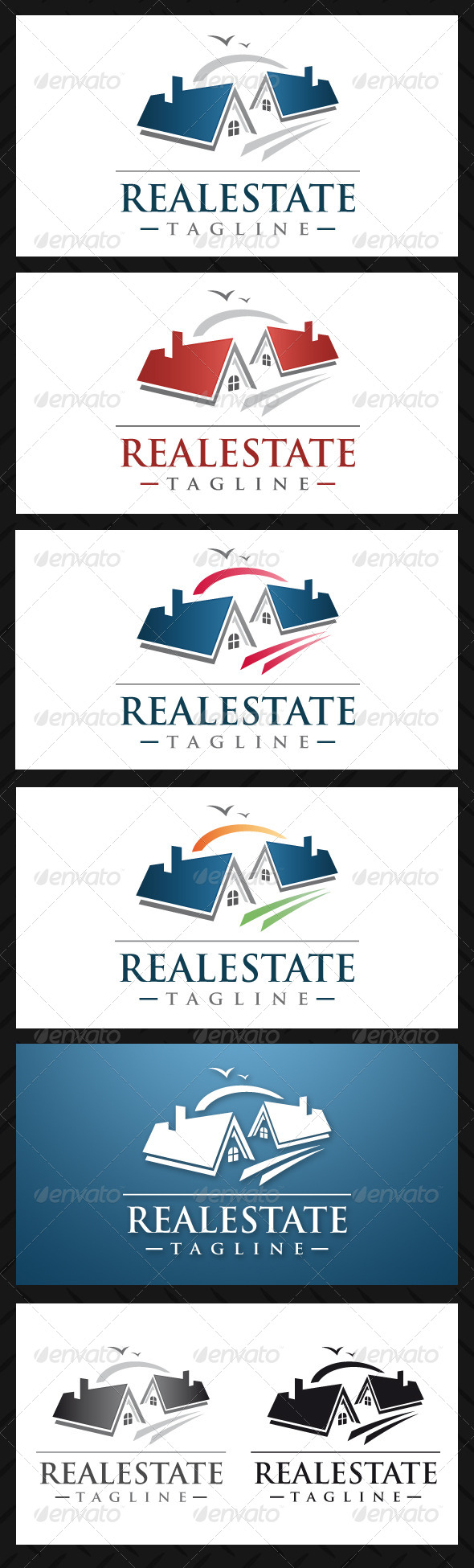 Real Estate Professional Logo Template