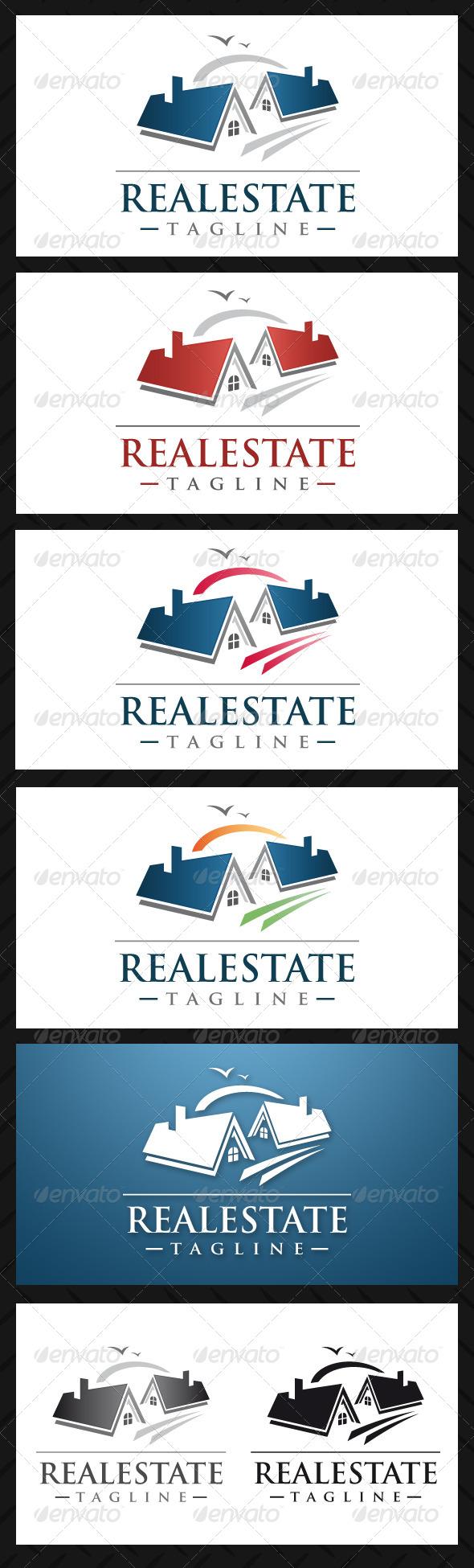 Real Estate Professional Logo Template