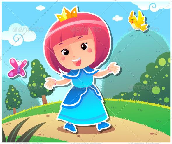 Princess Lily - Characters Vectors