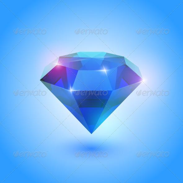 GraphicRiver Sapphire Gem 4780010