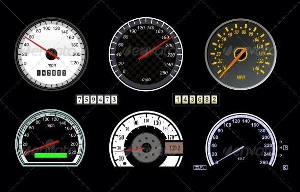 GraphicRiver Speedometer 4780087