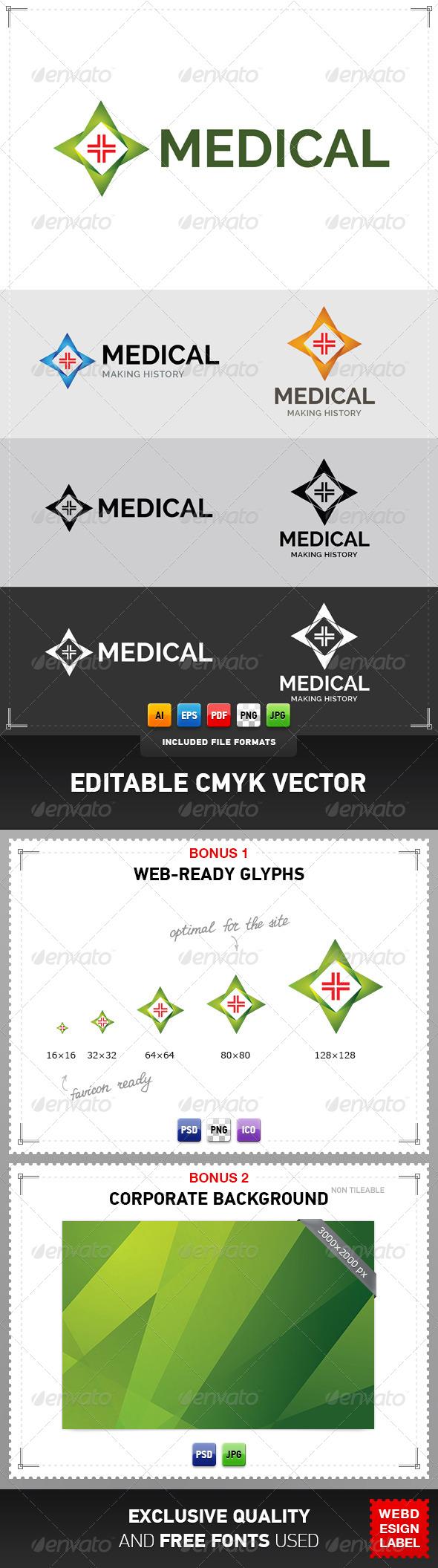 GraphicRiver Medical Logo 4780159