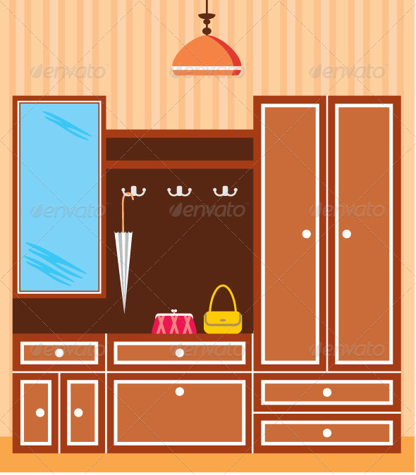 GraphicRiver Image of Interior Closet in the Hallway 4780223