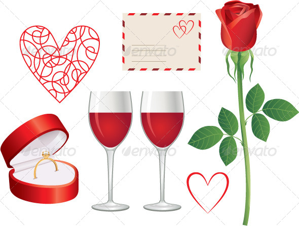 GraphicRiver Valentine Day Icon Set 4780265