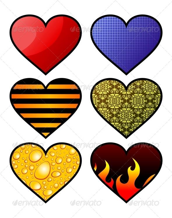 GraphicRiver Hearts 4780319