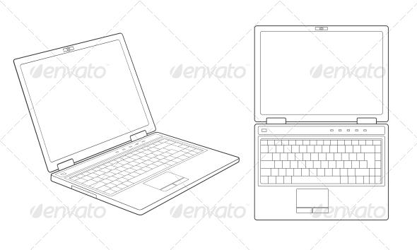 GraphicRiver Laptop 4780321