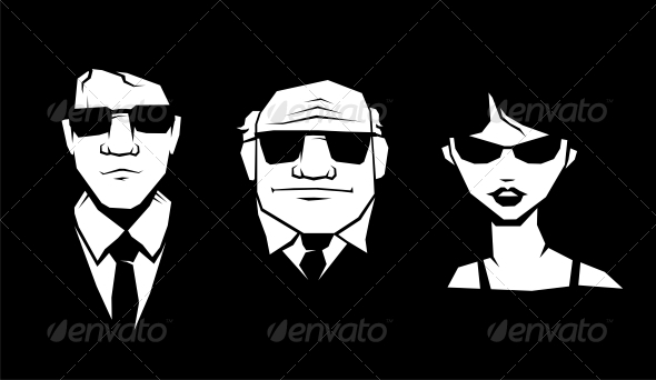 GraphicRiver Mafia Peoples 4780336