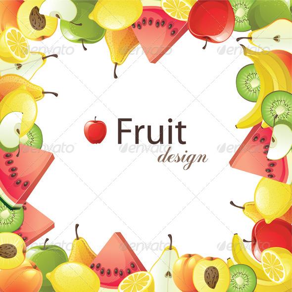 GraphicRiver Fruit Frame 4780350