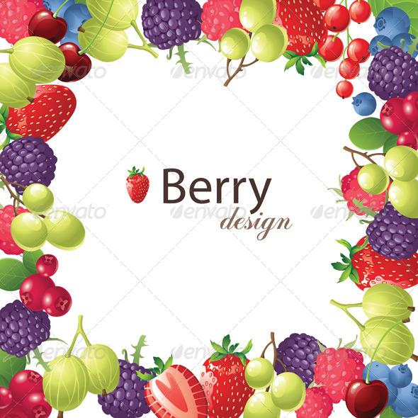 GraphicRiver Berry Frame 4780357