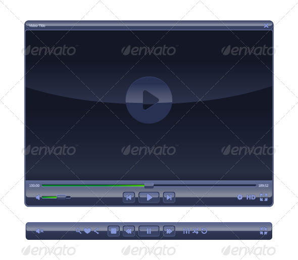 GraphicRiver Elegant WEB-Video Player 4737490