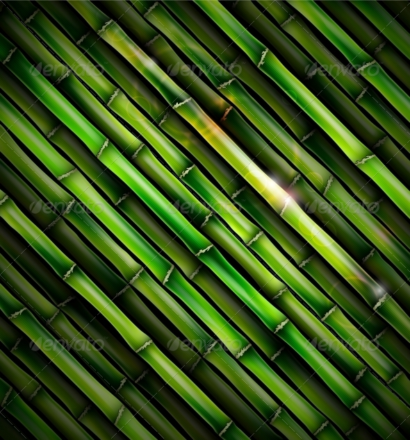 GraphicRiver Background with Bamboo 4781264