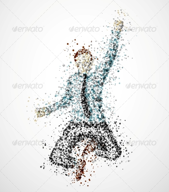 GraphicRiver Abstract Businessman 4781265