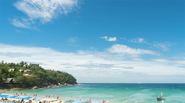 A Day at Phuket Beach