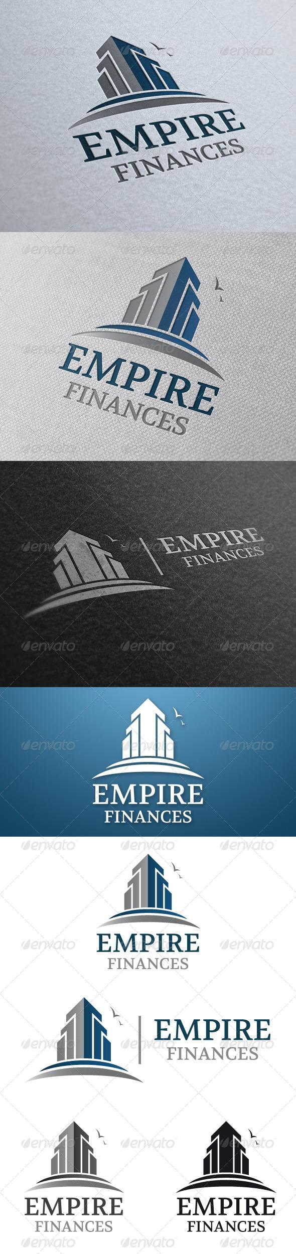 GraphicRiver Empire Real Estate Logo Template 4781399