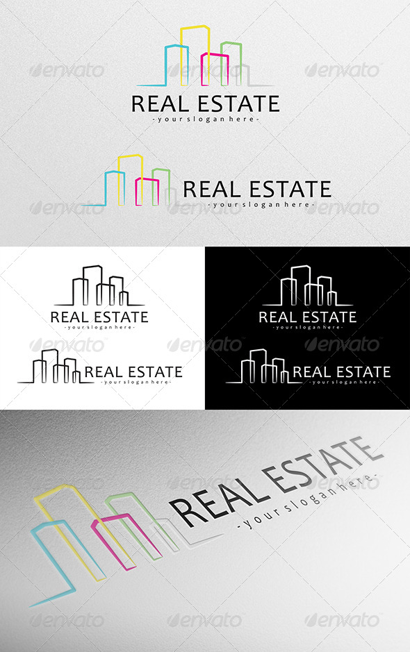 GraphicRiver Real Estate Logo 4781454