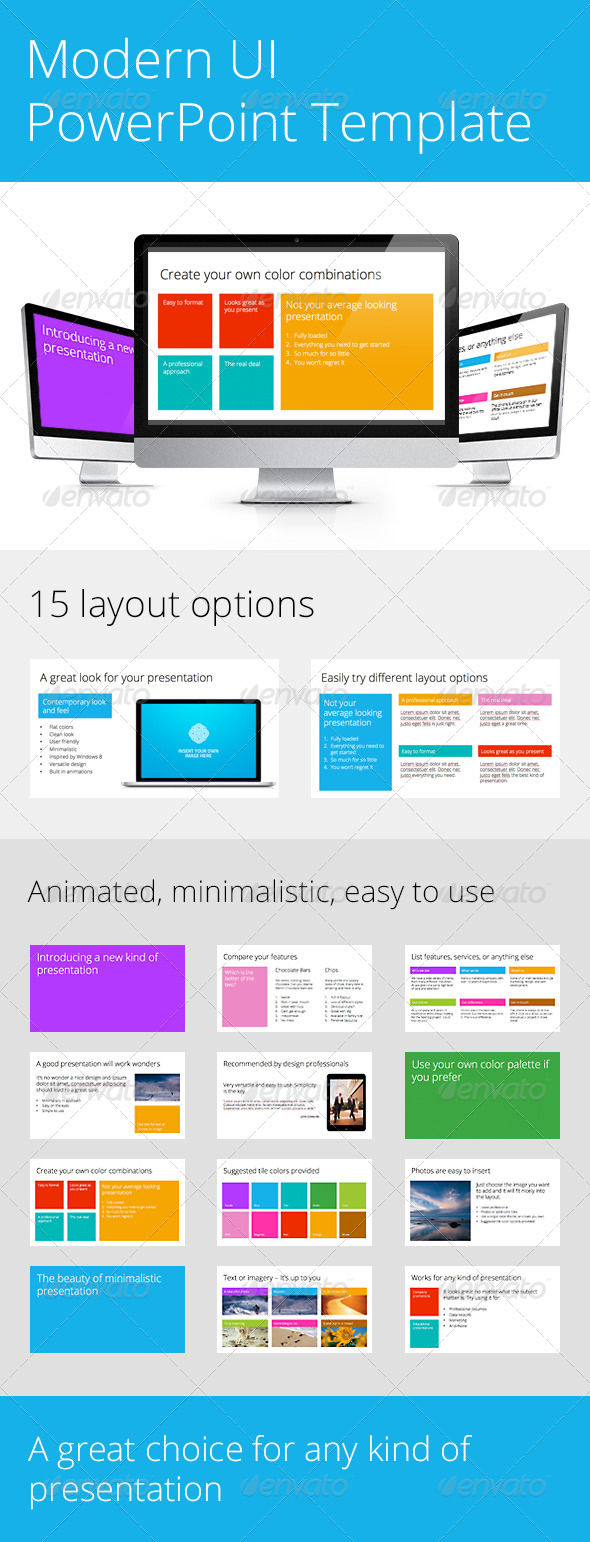 GraphicRiver Modern UI PowerPoint Template 4781635