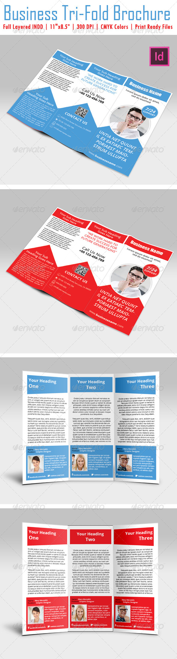 GraphicRiver Business Tri-Fold Brochure 4687729
