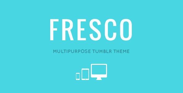 ThemeForest FRESCO Responsive Multipurpose Tumblr Theme 4782425