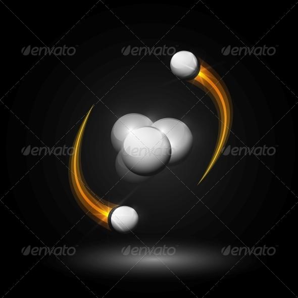 GraphicRiver Helium Atom 4783127