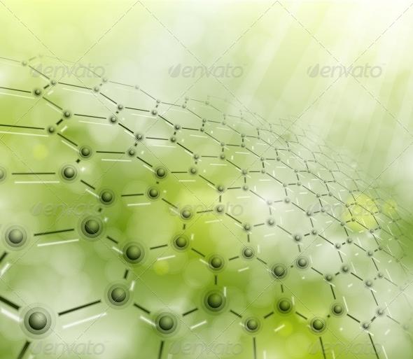 GraphicRiver Molecular Background 4783128