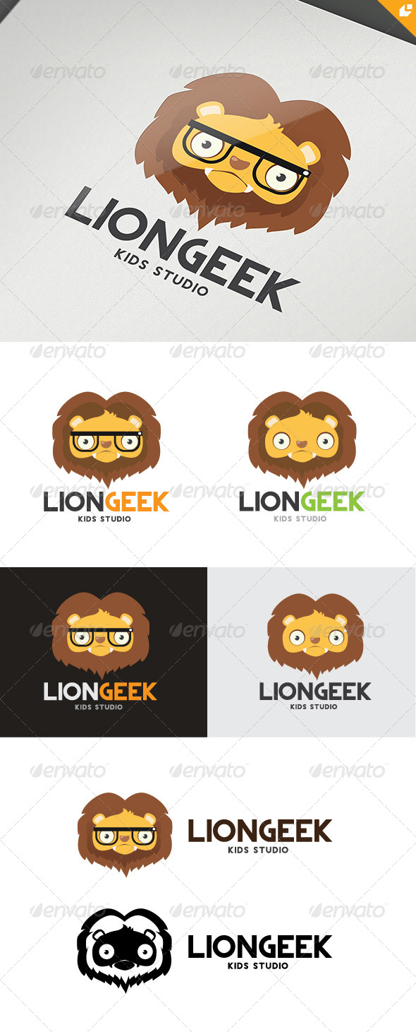 GraphicRiver Lion Geek 4784853