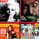 4 Popular Magazine Covers Templates - GraphicRiver Item for Sale