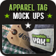10 Apparel Tag Mock-Ups - GraphicRiver Item for Sale