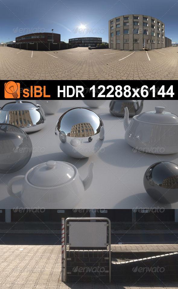 HDR 084 Parking Lot sIBL - 3DOcean Item for Sale
