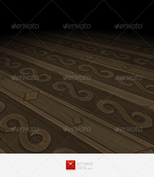 Wood Texture Tile 03 - 3DOcean Item for Sale