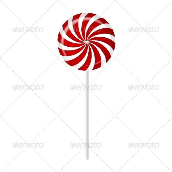 GraphicRiver Striped Candy Vector Illustration 4786429