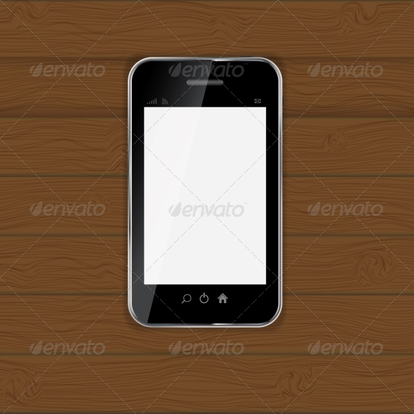 GraphicRiver Realistic Mobile Phone Vector Illustration 4786530