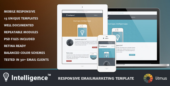 ThemeForest Intelligence Responsive Emailmarketing Template 4781146