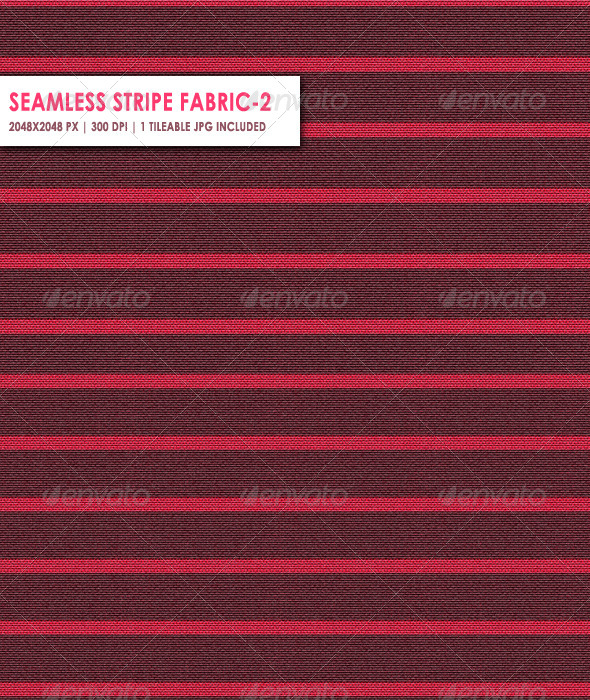 Seamless Stripe Fabric Two