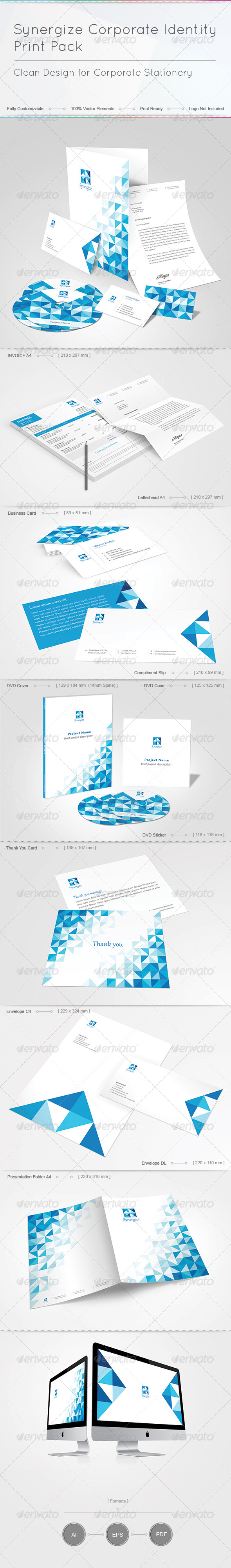 GraphicRiver Synergize Corporate Identity Print Pack 4787752