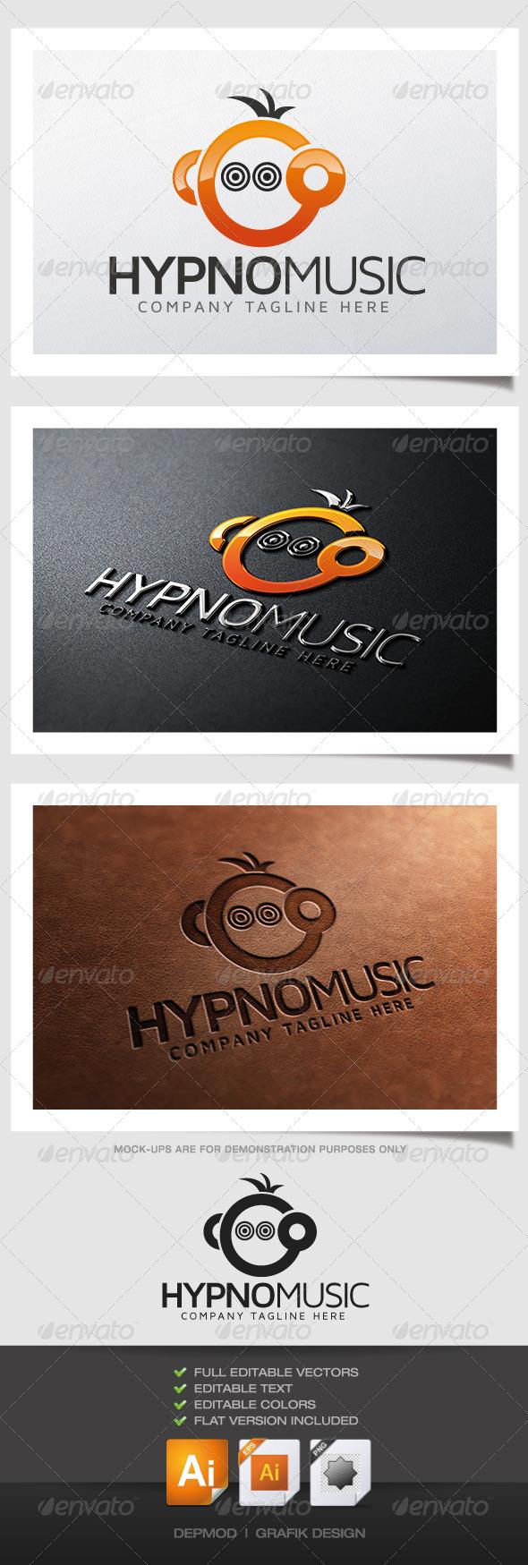 GraphicRiver Hypno Music Logo 4788714