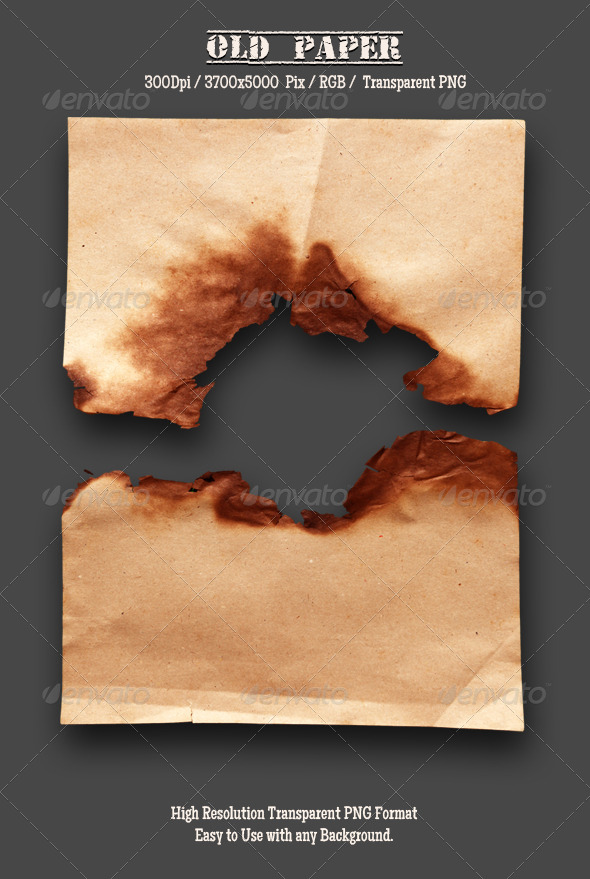 GraphicRiver Burnt Old Paper 10 4788728