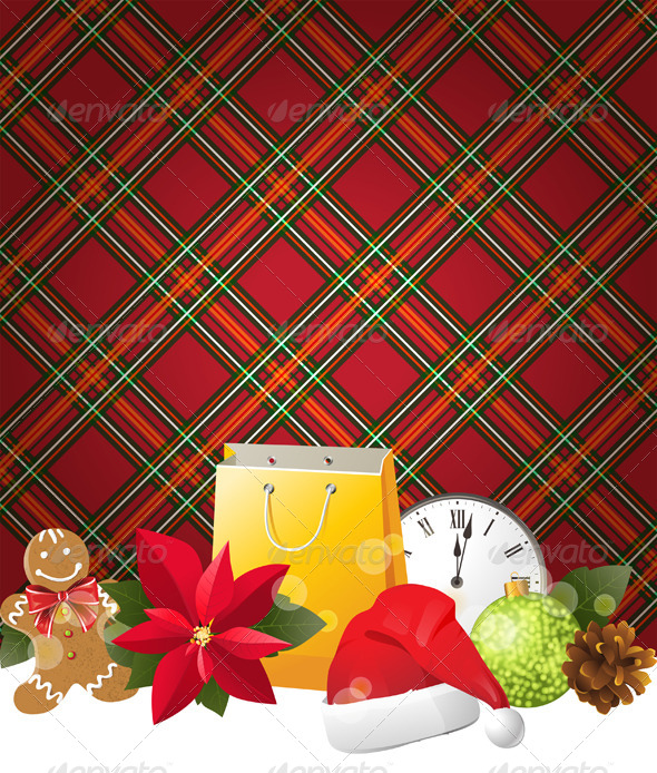GraphicRiver Christmas Background 4789831