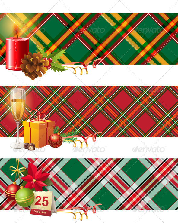 GraphicRiver Christmas Banners 4789878
