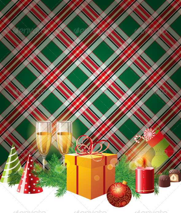 GraphicRiver Christmas Background 4789881