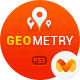 GeoMetry - design for geolocation social networkr - ThemeForest Item for Sale