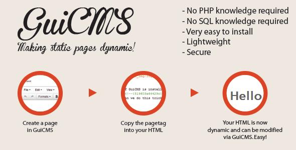 CodeCanyon GuiCMS 4744902