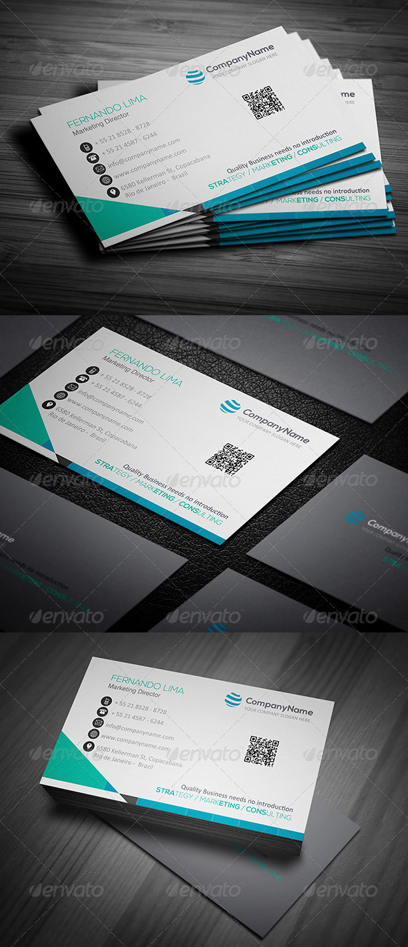 GraphicRiver Corporate Business Card 005 4790767