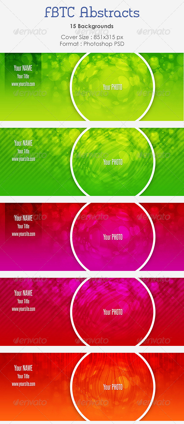 GraphicRiver FBTC Abstracts 4791289